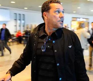 Vanderlei Luxemburgo se reuni com os dirigentes do Palmeiras