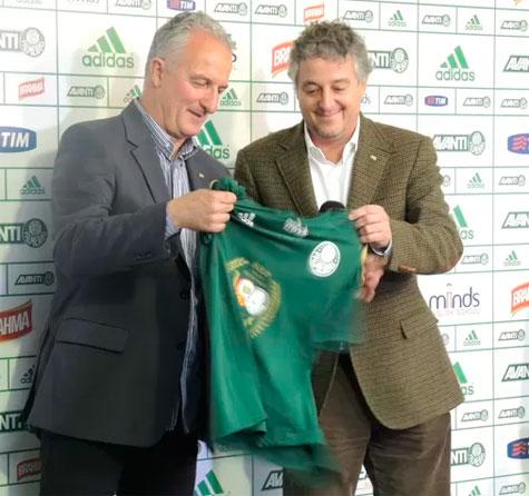 Palmeiras tem novo técnico Dorival Junior e com direito a camisa 5