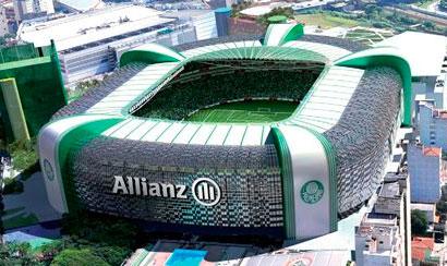 Palmeiras faz treino no Allianz Parque antes do primeiro jogo dessa quarta-feira