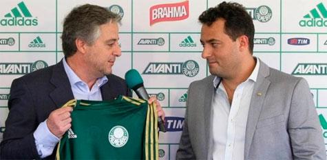 Mais um reforço no Palmeiras novo diretor de futebol Alexandre Mattos