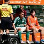 Lesão grave de Gabriel impedi de voltar a jogar 2015 pelo Palmeiras