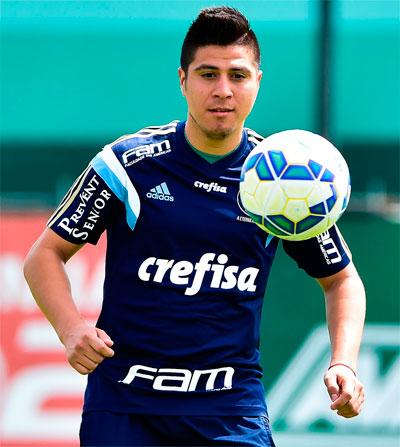 Palmeiras terá desfalque no Campeonato Brasileiro 2015 o atacante Cristaldo