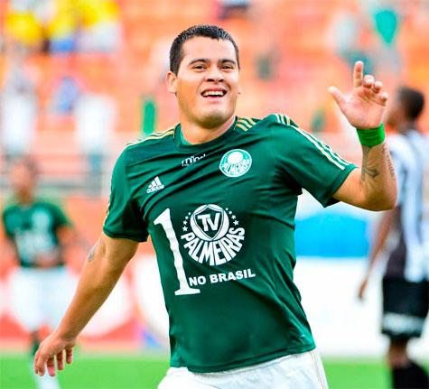 Palmeiras renova com Olimpia empréstimo do Mendieta