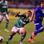 Técnico do Palmeiras elogia o Jean e fala que a possibilidade de colocar ele como um titular