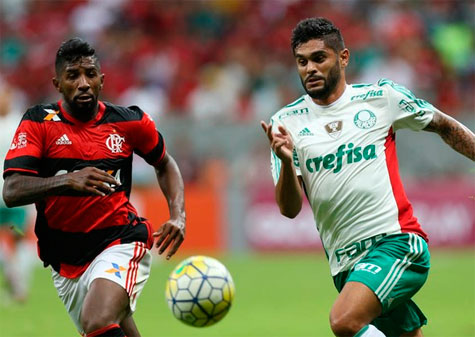 Palmeiras vence Flamengo e entra no G4 do Campeonato Brasileiro 2016