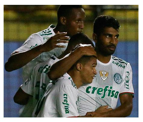 Palmeiras vence o Sport e mantém sua vantagem na liderança do Brasileirão 2016