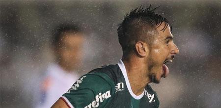 Palmeiras vence o Santos de virada pelo Campeonato Paulista